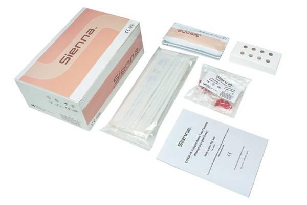 COVID-19 Antigen Rapid Test Cassette (Wymaz z nosogardzieli) - Szybki test na koronawirus-  25 testów